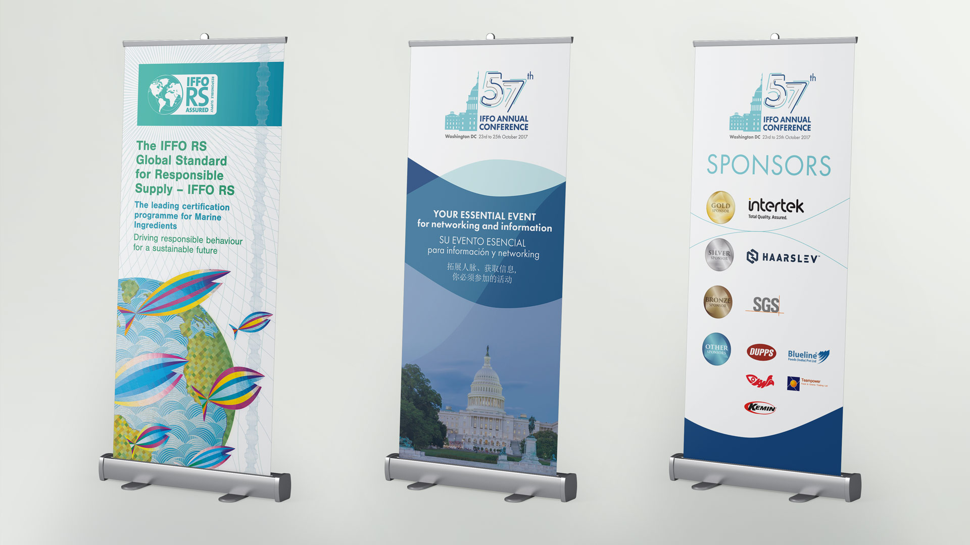 IFFO RS roll-up banners design